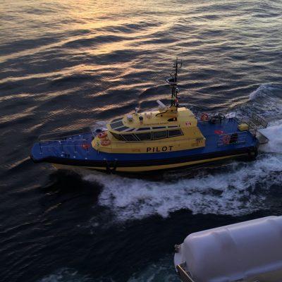 Pilot Boat Escort